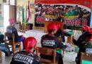 Tanamkan Rasa Cinta Tanah Air, Babinsa Tambakboyo Berikan Materi Wasbang  DIKLATSAR BANSER II TA. 2021